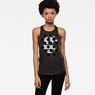 G-Star RAW® Esame Slim Tank Top Grey model side