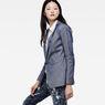 G-Star RAW® Bronson Boyfriend Blazer Dark blue model side