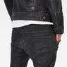 G-Star RAW® 5620 G-Star Elwood 3D Zip Knee Super Slim Jeans Dark blue