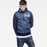 G-Star RAW® Netrol Hooded Sweater Medium blue model front