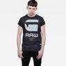 G-Star RAW® Resap Short Sleeve T-shirt Grey model front