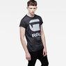 G-Star RAW® Resap Short Sleeve T-shirt Grey model side
