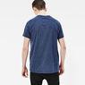 G-Star RAW® Frikran Short Sleeve T-shirt Dark blue model back