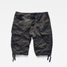 G-Star RAW® Rovic Zip 1/2 Shorts Grey model back