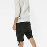 G-Star RAW® Rovic Zip 1/2 Shorts Grey flat front