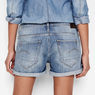 G-Star RAW® Arc Boyfriend Shorts Light blue front flat