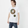 G-Star RAW® Warth T-shirt White model side