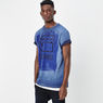 G-Star RAW® Xartic T-shirt Dark blue model side