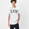 G-Star RAW® Poskin T-shirt White model front
