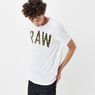 G-Star RAW® Poskin T-shirt White model side