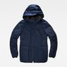 G-Star RAW® Expedic Down Hooded Jacket Dark blue flat front