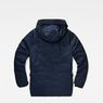 G-Star RAW® Expedic Down Hooded Jacket Dark blue flat back