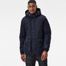 G-Star RAW® Expedic Hooded Cotton Jacket Dark blue model front