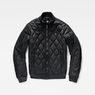 G-Star RAW® Batt Quilted Bomber Black flat front