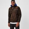 G-Star RAW® Ospak Liner Overshirt Brown model front