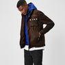 G-Star RAW® Ospak Liner Overshirt Brown model side