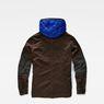 G-Star RAW® Ospak Liner Overshirt Brown flat back