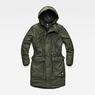 G-Star RAW® Expedic Hooded Parka Green flat front