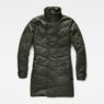 G-Star RAW® Minor Classic Quilted Coat Green flat front