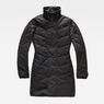 G-Star RAW® Minor Classic Quilted Coat Black flat front