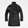 G-Star RAW® Minor Classic Quilted Coat Black flat back