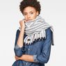 G-Star RAW® Dorala Strip Scarf Dark blue