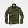 G-Star RAW® Powel Deconstructed Overshirt Green flat front
