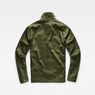 G-Star RAW® Powel Deconstructed Overshirt Green flat back