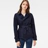 G-Star RAW® Classic Short Trench Dark blue model front