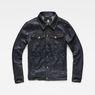 G-Star RAW® 3301 Deconstructed 3D Slim Jacket Dark blue flat front
