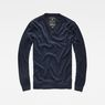 G-Star RAW® Core V-Neck Knit Dark blue flat front