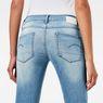 G-Star RAW® 3301 Deconstructed Mid Waist Straight Jeans Mittelblau