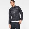 G-Star RAW® Motac Deconstructed 3D Slim Jacket Dark blue model front