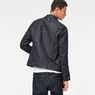 G-Star RAW® Motac Deconstructed 3D Slim Jacket Dark blue model back
