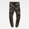 G-Star RAW® Powel 3D Tapered Cuffed Pants Grey model front