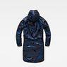 G-Star RAW® Strett hooded padded parka + gymbag Dark blue flat back