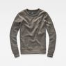 G-Star RAW® Stalt Sweater Grey flat front