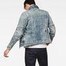 G-Star RAW® Motac Deconstructed 3D Slim Jacket Light blue model back