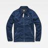 G-Star RAW® Strett Coach Overshirt Dark blue flat front