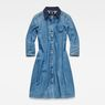 G-Star RAW® Deline Dress Bleu moyen