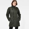 G-Star RAW® Minor Classic Quilted Coat Green model front