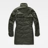 G-Star RAW® Minor Classic Quilted Coat Green flat back