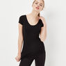 G-Star RAW® Base Ultimate Stretch T-shirt Black model front