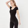G-Star RAW® Base Ultimate Stretch T-shirt Black model side