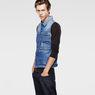 G-Star RAW® Attc Slm 3D Jacket Light blue model side