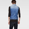 G-Star RAW® Attc Slm 3D Jacket Light blue model back