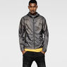 G-Star RAW® Pack G-13 Hooded Jscket Grey model front