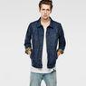 G-Star RAW® Attc Slm 3D Jacket Dark blue model front