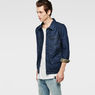 G-Star RAW® Attc Slm 3D Jacket Dark blue model side