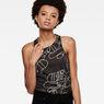 G-Star RAW® Esame Slim Tank Top Grey model front